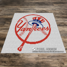 Load image into Gallery viewer, New York Yankees Torch (Row by Row)