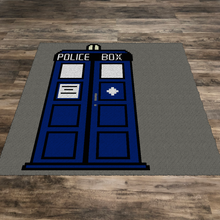 Load image into Gallery viewer, Dr Who Tardis (Row by Row)