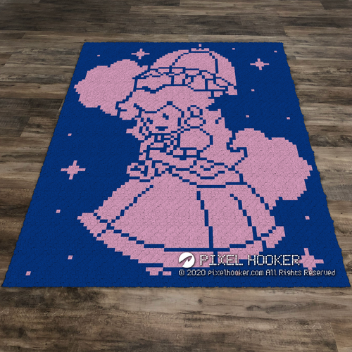 Princess Peach (2 Colours)