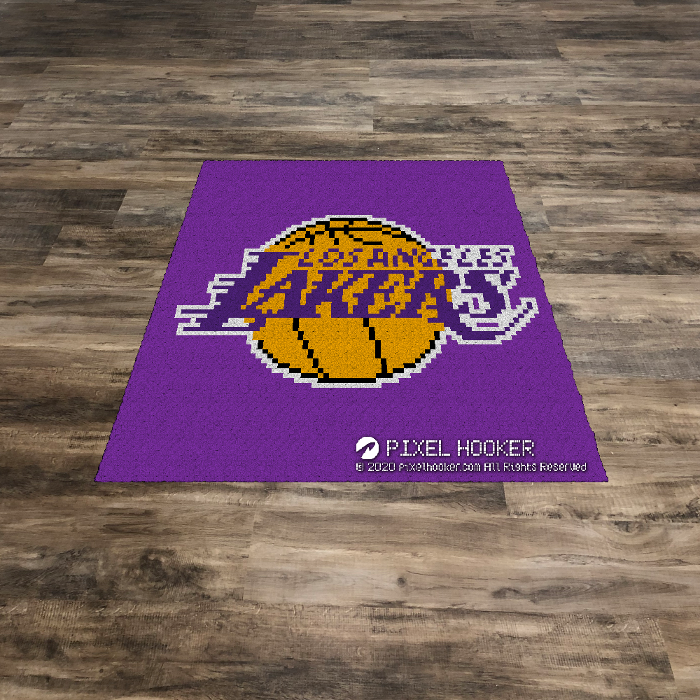 Los Angeles Lakers Blanket and Pillow