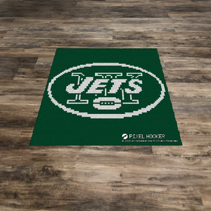 New York Jets Blanket and Pillow
