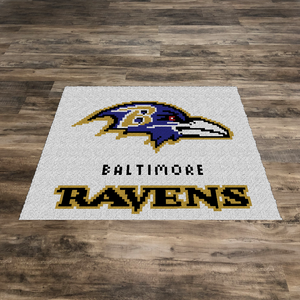 Baltimore Ravens Blanket and Pillow