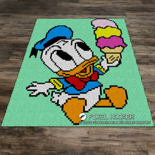 Load image into Gallery viewer, Baby Donald and Ice cream