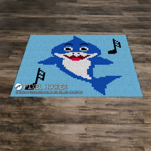 Load image into Gallery viewer, Blue Baby Shark