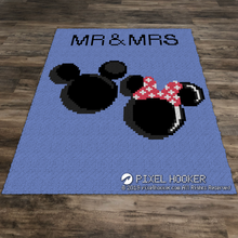 Load image into Gallery viewer, MR and MRs Mickey and Minnie