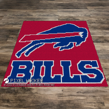 Load image into Gallery viewer, Buffalo Bills Logo