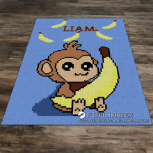 Load image into Gallery viewer, Banana Heaven Monkey
