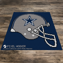 Load image into Gallery viewer, Dallas Cowboys Helmet