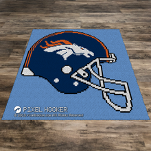 Load image into Gallery viewer, Denver Broncos Helmet