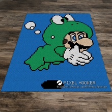 Load image into Gallery viewer, Jumping Frog Luigi