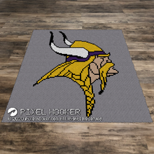 Load image into Gallery viewer, Minnesota Vikings Logo