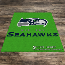 Load image into Gallery viewer, Seattle Seahawks Logo (Green)