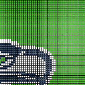 Seattle Seahawks Logo (Green)