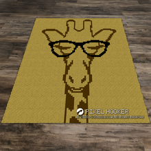 Load image into Gallery viewer, Giraffe in Glasses