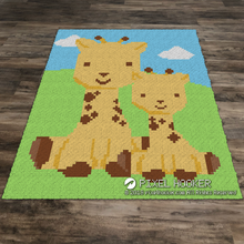 Load image into Gallery viewer, Toy Giraffes with No Flowers