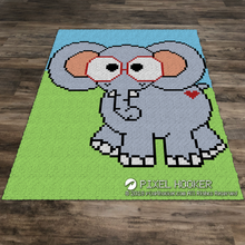 Load image into Gallery viewer, Geeky Elephant