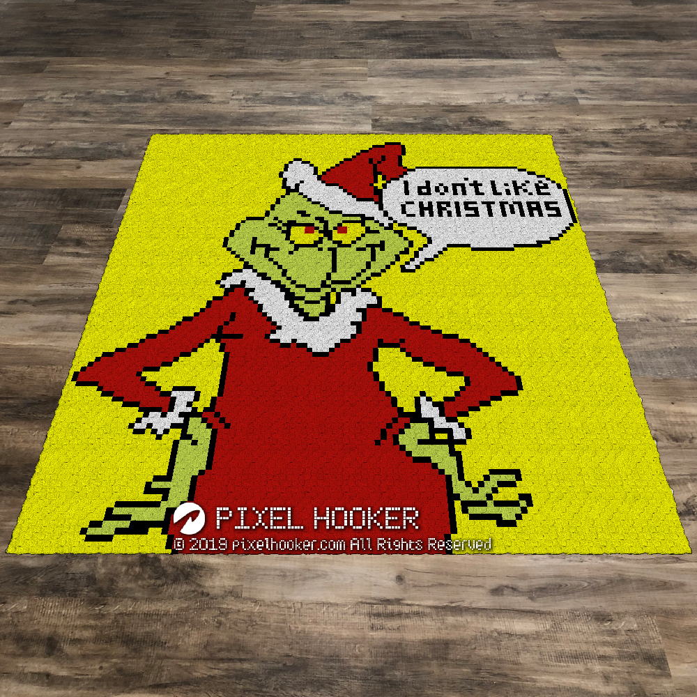 Grinch Don't Like Christmas