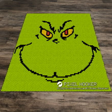 Load image into Gallery viewer, Grinch Face