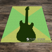 Load image into Gallery viewer, Guitar Outline