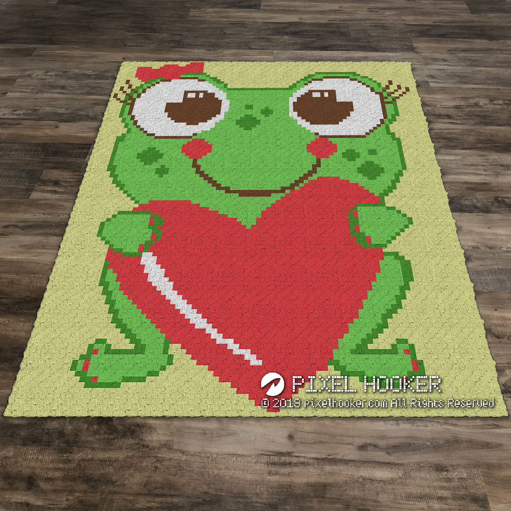Frog With a Big Heart