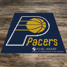 Load image into Gallery viewer, Indiana Pacers Logo