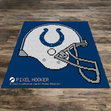 Load image into Gallery viewer, Indianapolis Colts Helmet