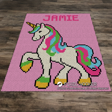 Load image into Gallery viewer, Standing Unicorn