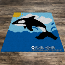 Load image into Gallery viewer, Jumping Orca