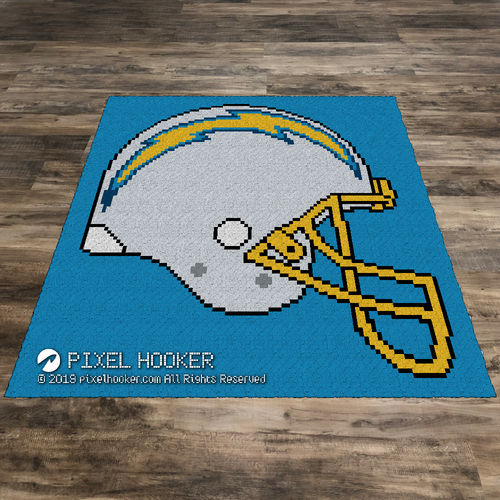 Los Angeles Chargers Helmet
