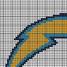 Load image into Gallery viewer, Los Angeles Chargers Logo