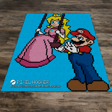 Load image into Gallery viewer, Mario and Peach