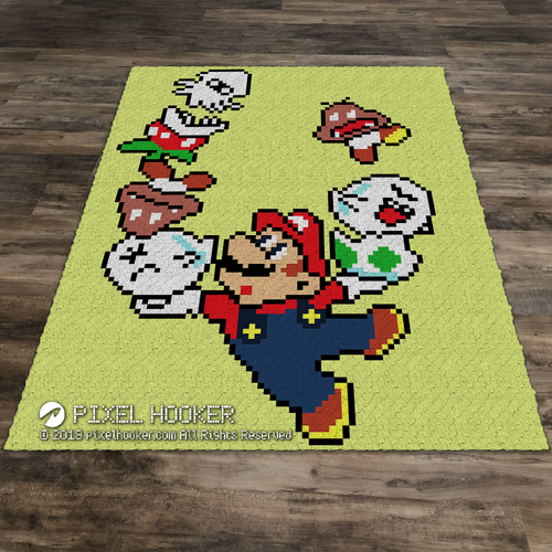 Balancing Mario (Multi-Colour)