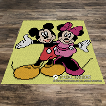 Load image into Gallery viewer, Mickey And Minnie Mouse