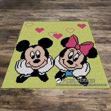 Load image into Gallery viewer, Mickey and Minnie Chilling