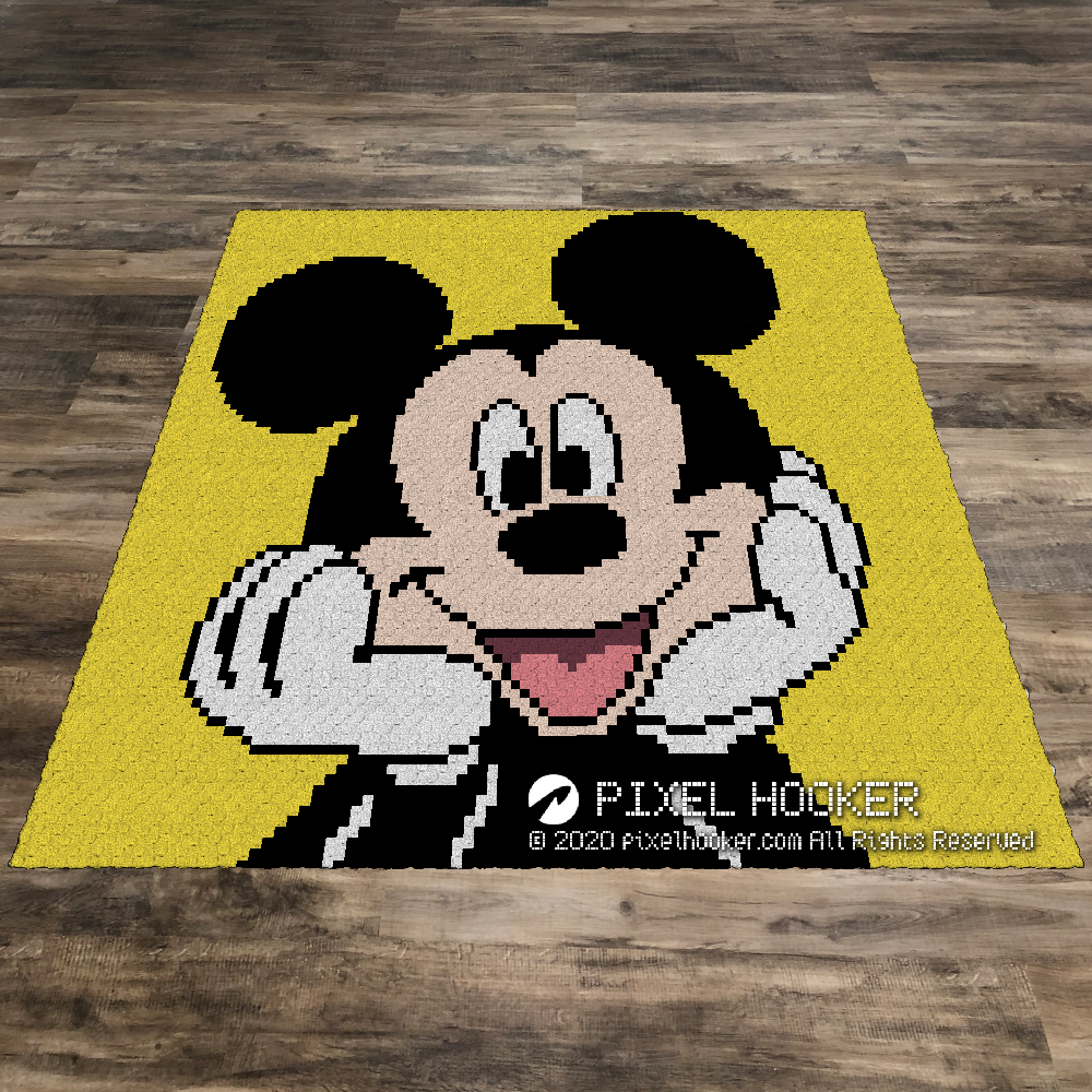 Mickey Mouse Portrait