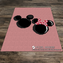 Load image into Gallery viewer, Mickey and Minnie