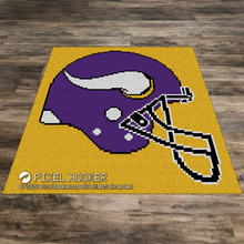 Load image into Gallery viewer, Minnesota Vikings Helmet