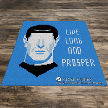 Load image into Gallery viewer, Mr. Spock Long Live And Prosper