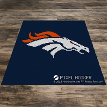 Load image into Gallery viewer, Denver Broncos Logo (Navy)