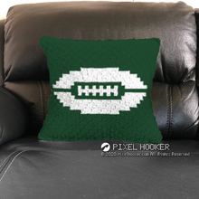 Load image into Gallery viewer, New York Jets Blanket and Pillow