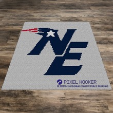 Load image into Gallery viewer, New England Patriots Logo
