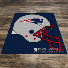 Load image into Gallery viewer, New England Patriots Helmet