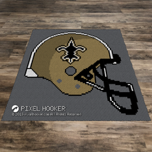 Load image into Gallery viewer, New Orleans Saints Helmet