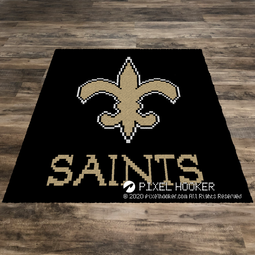 New Orleans Saints Logo (Black)