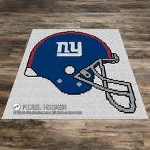 Load image into Gallery viewer, New York Giants Helmet