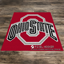 Load image into Gallery viewer, Ohio State (Row by Row)