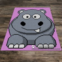 Load image into Gallery viewer, Toothy Hippo