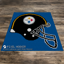 Load image into Gallery viewer, Pittsburgh Steelers Helmet