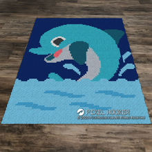 Load image into Gallery viewer, Playing Dolphin