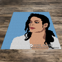 Load image into Gallery viewer, Michael Jackson Portrait